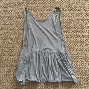 Free People Gray Tank